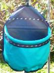 Collapsible Feed Bag (Turquoise)