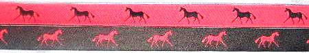 Hot Pink with Navy horse / /Navy with Hot Pink horse