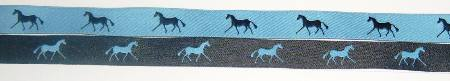 Blue with Navy horses/Navy with Blue horses